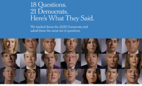 18 Questions. 21 Democrats. Here's What They Said.